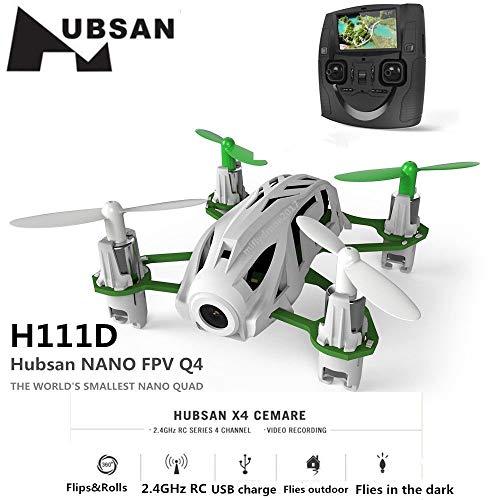 Hubsan H111D NANO Q4 FPV 5.8G RC Quadcopter Drone with 480P Camera RTF Black
