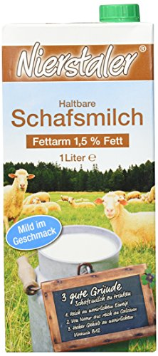 Delina Milch Nierstal., 6er Pack (6 x 1 l)