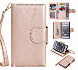 Yiizy Sony Xperia Z5 Coque Etui, Fille Gaufrage Design Mince Flip PU Cuir Cover Couverture Rabat...