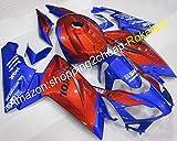 フェアリング ために アプリリア RS125 2006 2007 2008 2009 2010 2011 R S 125 RS 125ブルーレッドABSオートバイフェアリング(射出成形)