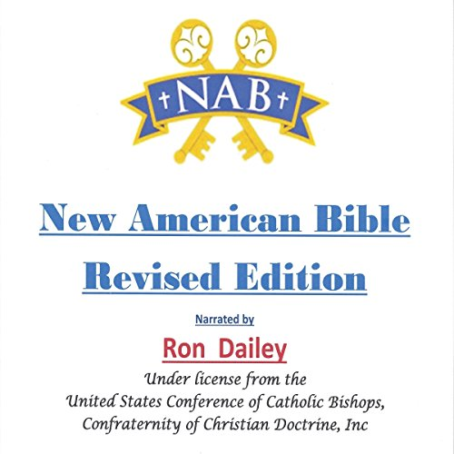 New American Bible audiobook cover art