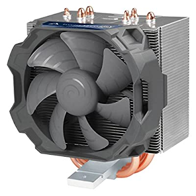 ARCTIC Freezer 12 CO - Semi Passive Tower CPU Cooler for Intel, 92 mm PWM Fan, Max. Cooling Capacity 320 Watts, Silent high Performance Cooler - Grey