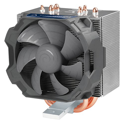 ARCTIC Freezer 12 CO - Ventilador Torre CPU Compacto Semipasivo Operatividad Continuada, 92 mm PWM, AMD AM4 Intel 115x CPU, hasta 130 W TDP, Aluminio/Gris (ACFRE00030A)
