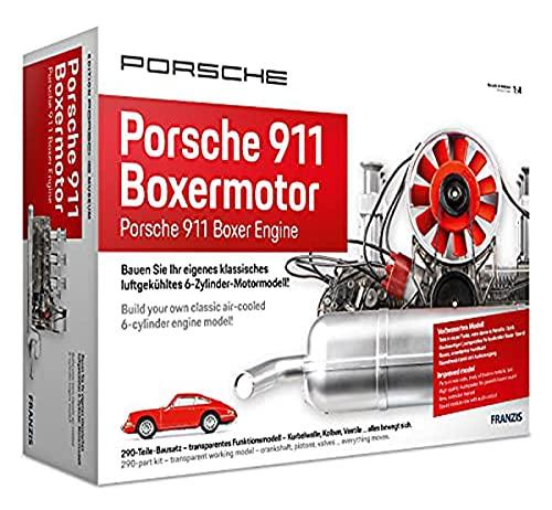 Porsche 911 Boxermotor: Bauen Sie Ihr eigenes klassisches luftgekühltes 6-Zylinder-Motormodell
