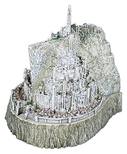 LIUYULONG Statue du Seigneur des Anneaux Sculpture Artisanat Modèle Cendrier Statue Minas Tirith (Minas Tirith) Figurine Décoration de Bureau Ornements Art Cadeaux Figurines