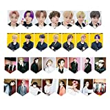 BanTan Boys Birthday Banner Bunting,Personal Banner Flags with 8 Meters String for BanTan Boys Birthday Party Birthday Gift Home Decoration(Black)