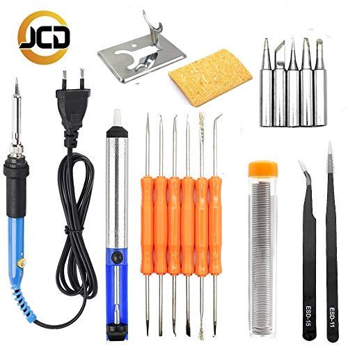 Read About Soldering Occus EU/US/AU/UK Plug 220V 60W Adjustable Temperature Electric Soldering Iron ...