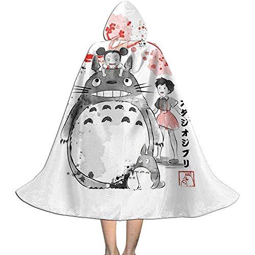 Niet van toepassing volwassen gewaad mantel, capuchon met capuchon, Unisex Cosplay rol kostuums, mijn buurman Totoro Sumie Vampire mantel, Halloween partij decoratie bovenkleding, wizard mantel