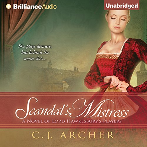 Scandal's Mistress audiobook cover art
