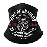 Sons of Anarchy Unisex Microfiber Neck Warmer Neck Gaiter Face Mask Bandana Balaclava