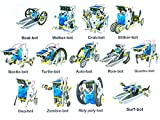 FunBlast Solar Robot Kit; 13 in 1 Learning Educational Kids Station, Robot Toy