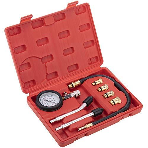 PrimeMatik - Manómetro medidor y comprobador de compresión para Motores a Gasolina
