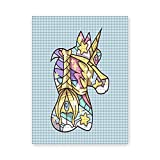 Kits de pintura de diamante 5D siluetas mágicas viento veloz para adultos, DIY Crystal Rhinestone Bordado Artes Pintura de diamante para decoración de la pared del hogar 30 x 40 cm