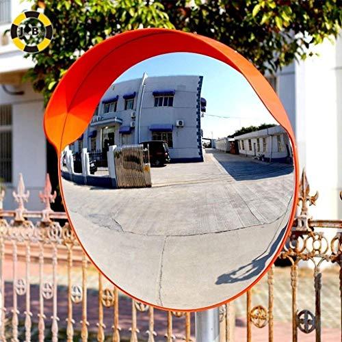 Konvexer Spiegel Weitwinkelsicherheit Gebogener konvexer Straßenspiegel Verkehr Auffahrt Verkehrssignal Verkehrssicherheit (Size : 80cm)