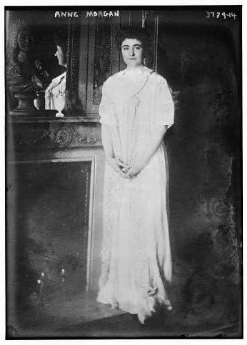 Historic Photographs LLC Photo Anne Tracy Morgan 1873 1952 American Philanthropist Fireplace product image