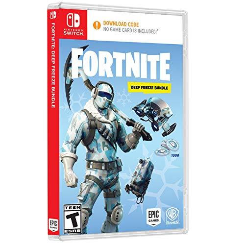 Fortnite: Deep Freeze Bundle - Nintendo Switch vídeo juego