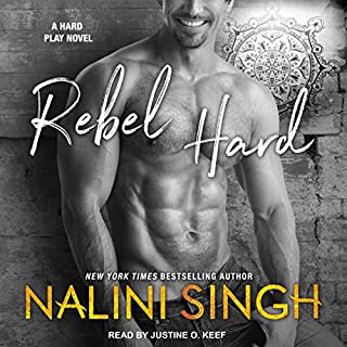 Rebel Hard audiobook cover art