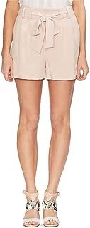Vince Camuto Tie-Waist Shorts Peach Bellini Size 6