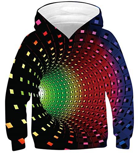 Fanient 2019 Fashion Cat Parttern Langarm Sweatshirt Pullover Bluse Jumper für Teen Jungen Mädchens