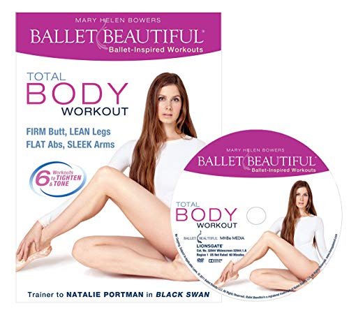Ballet Beautiful Ballet Workout DVD - Total Body Workout. Mary Helen Bowers Barre Dance Inspired Fitness DVD