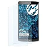 Bruni Schutzfolie kompatibel mit TP-Link Neffos C5 Max Folie, glasklare Bildschirmschutzfolie (2X)