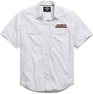 Mens Stay Cool Performance S/S Shirt, White. 99015-15VM