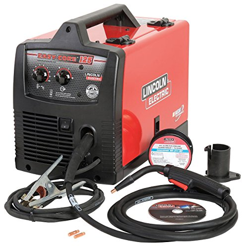 Flux Core Welder, Handheld, 120VAC