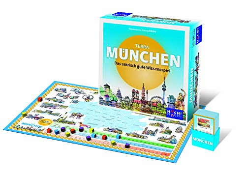 Süddeutsche Zeitung Edition 9783864973741 Terra München - Quiz/Ratespiel, blau/gelb