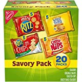 Nabisco Savory Cracker Variety Pack, RITZ, Cheese Nips, Wheat Thins & RITZ Toasted Chips S...