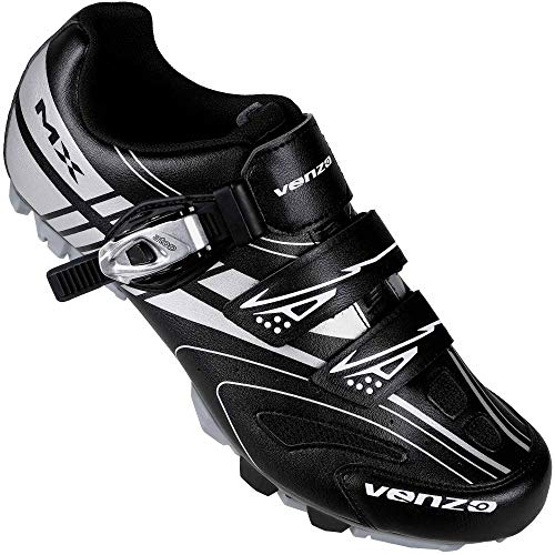 Venzo Mountain Men's Bike Bicycle Cycling Shoes - Compatible for Shimano SPD Cleats | Amazon