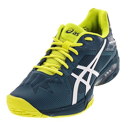 ASICS E600N Men's Gel-Solution Speed 3 Tennis Shoe, Ink Blue/White/Sulphur Springs - 9 D (M) US