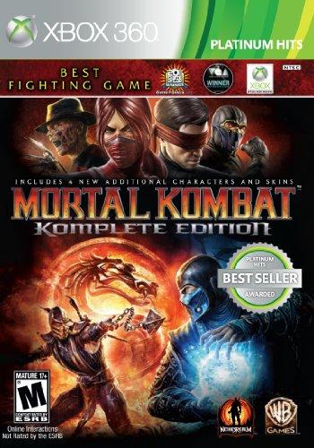 Mortal Kombat: Komplete Edition  Xbox 360