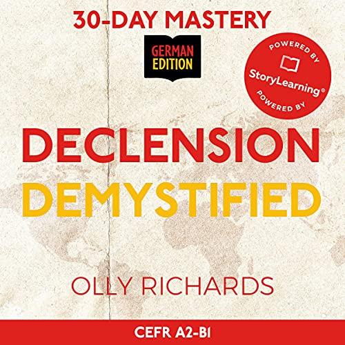 30-Day Mastery: Declension Demystified (German Edition) Titelbild