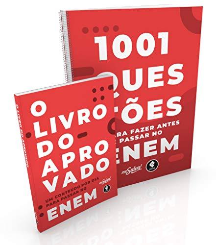 Coleção Me Salva: O Livro do Aprovado + 1001 Questões para Fazer Antes de Passar no ENEM