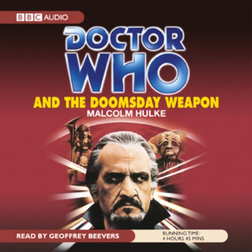 Doctor Who and the Doomsday Weapon audiobook cover art