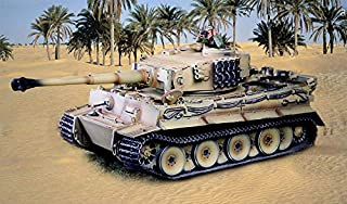 Collector's Showcase WW2 German CST2 Afrika Korps Tiger Tank Set 1:30 Scale Mixed Media