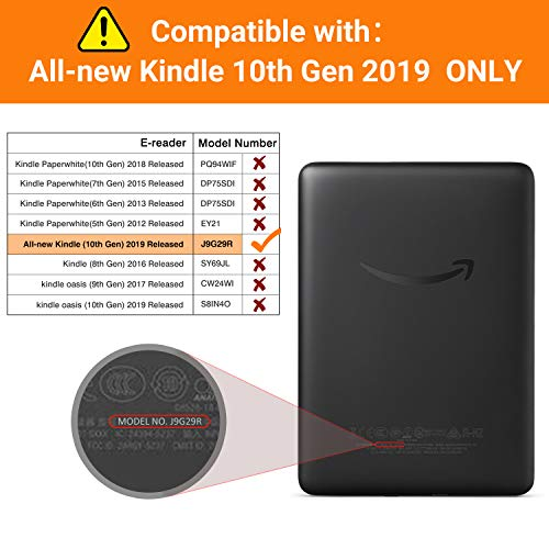 MoKo Funda Compatible con Kindle E-Reader 2019, Ultra Delgada ...