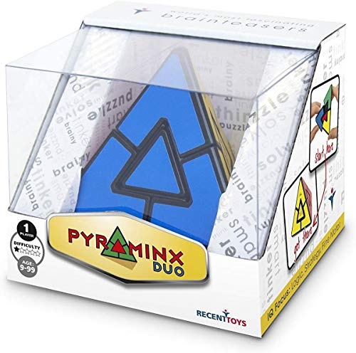 Meffert's M5071 Puzzle Pyraminx Duo, Mehrfarbig