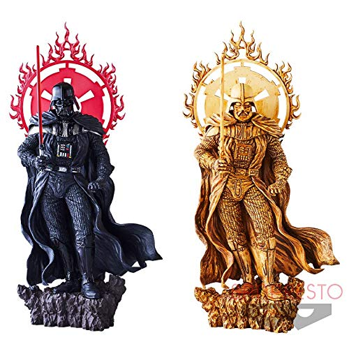 Banpresto Star wars dark statue Figure Figurine 20cm Darth Vader 2set PVC