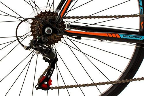 KS Cycling Rennrad 28'' Piccadilly schwarz-orange-blau RH59cm - 5