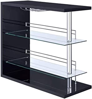 Best black bar unit with chrome accents Reviews