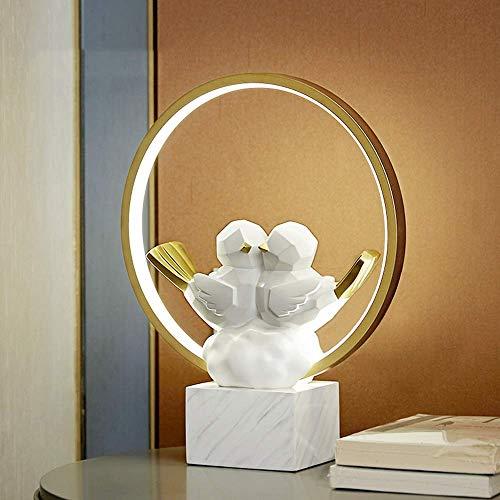 YANQING Duurzame creatieve bureaulamp bruiloftscadeau om naar vrienden en praktische geschenkornamenten te sturen Moderne minimalistische woondecoraties 30 * 10 * 37 cm oplichting
