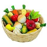 goki 51662 Gemüse im Korb