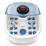 MaxKare Foot Spa, Foot Bath Massagers Bubble Spa with Heat & Vibration, Temperature Control, Tub Pedicure Foot Massager with16 Masssage Rollers Relax Tired Feet