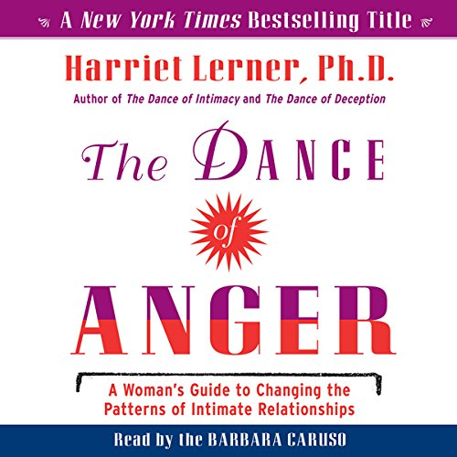 The Dance of Anger audiobook cover art