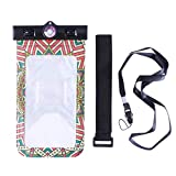 Cartoon Waterproof Mobile Phone Bags Printing Swimming Balloon Pouch Cases Cover (Bohemia-4)