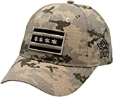 Peerless Embroidery Company Chicago Flag Digi Camo Grey Chicago Police Adjustable Hat