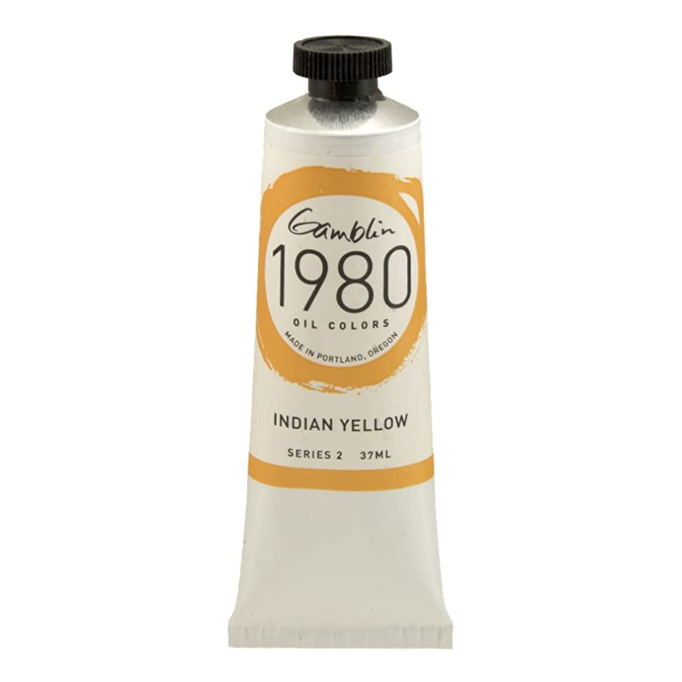 Gamblin 1980 Oil Indian Yellow 150Ml