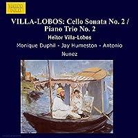 VILLA-LOBOS Heitor Sonate pour violon n°2 - Trio pour piano