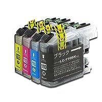 LC110-4PK ブラザー互換インクカートリッジ brother LC110シリーズ 4色セット ベンチャートナー